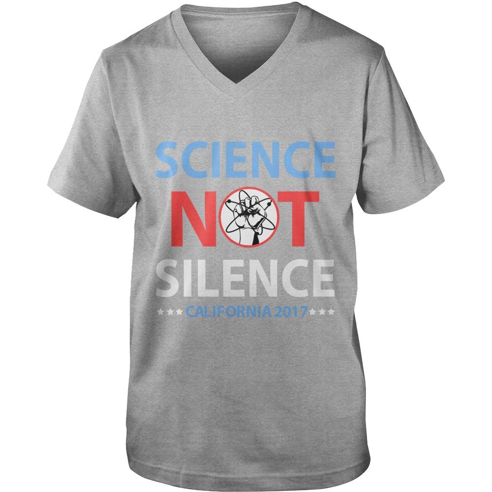 Science March California guys v-neck