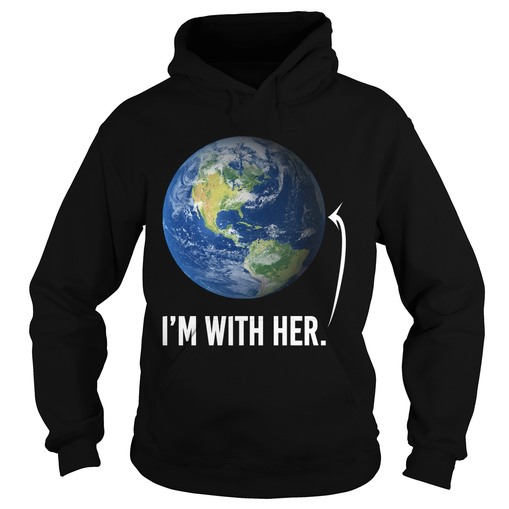 I'm with her shirt for march for science march 2017 hoodie