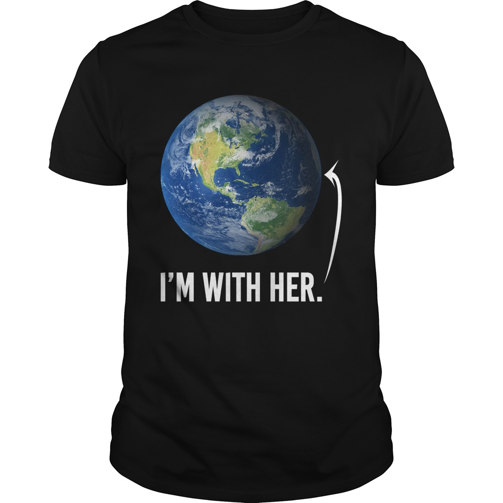 I'm with her shirt for march for science march 2017 shirt