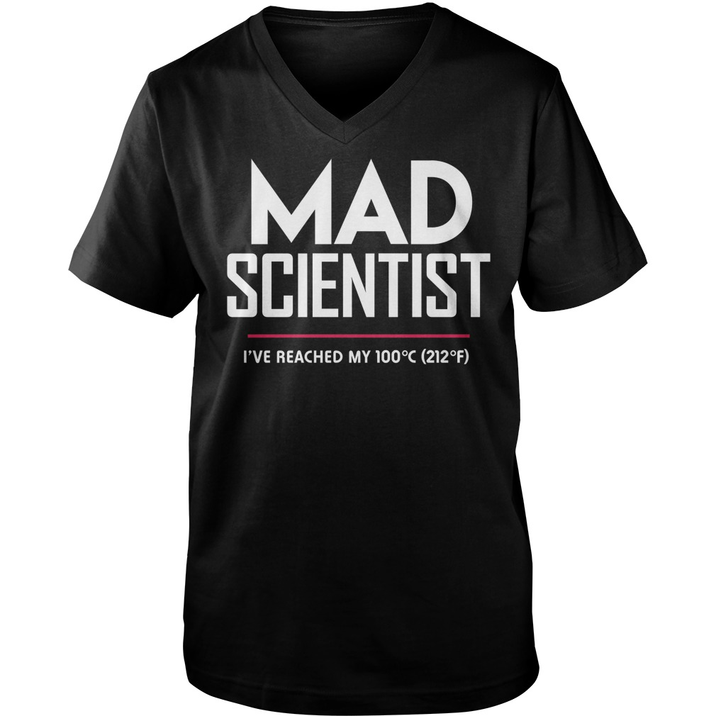 Mad Scientist: Science March Protest guys v-neck