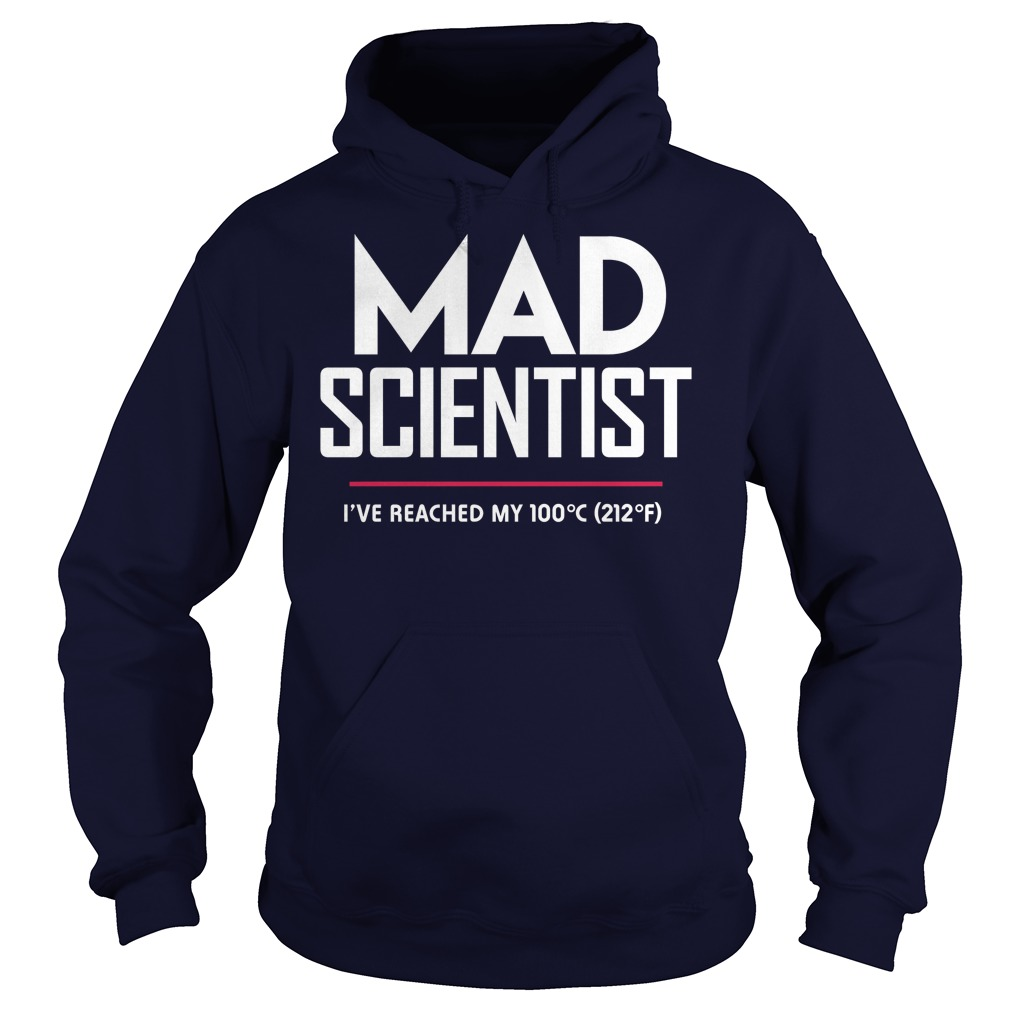 Mad Scientist: Science March Protest Hoodie
