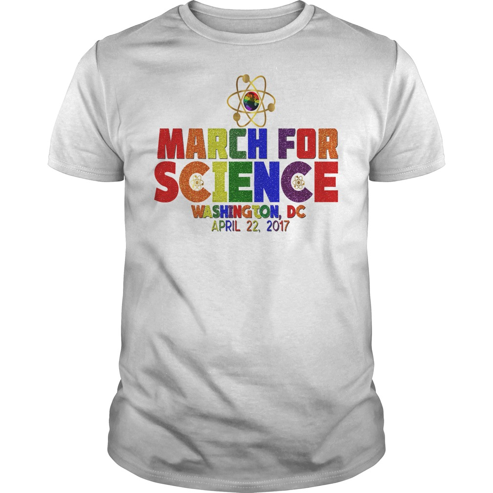 March For Science Earth Day April Washington DC guys tee