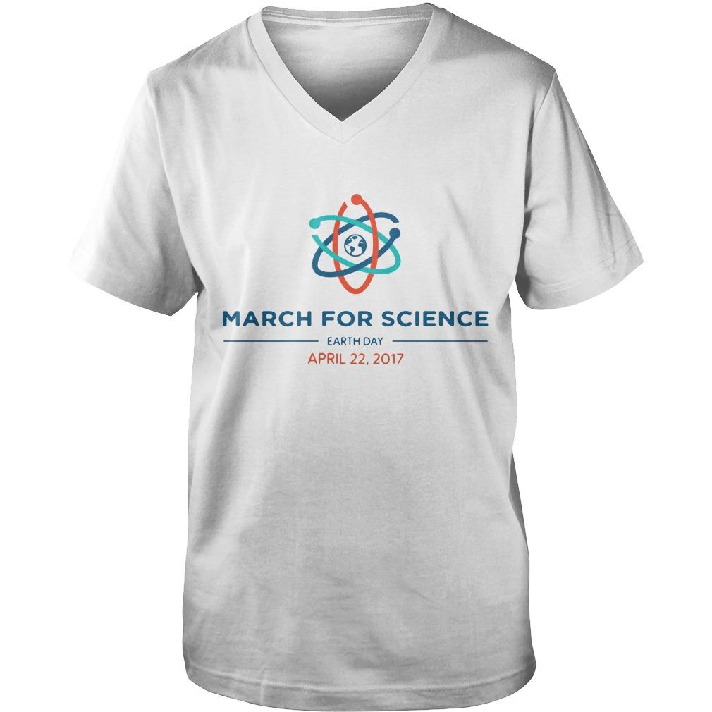 March For Science lovely guys v-neck
