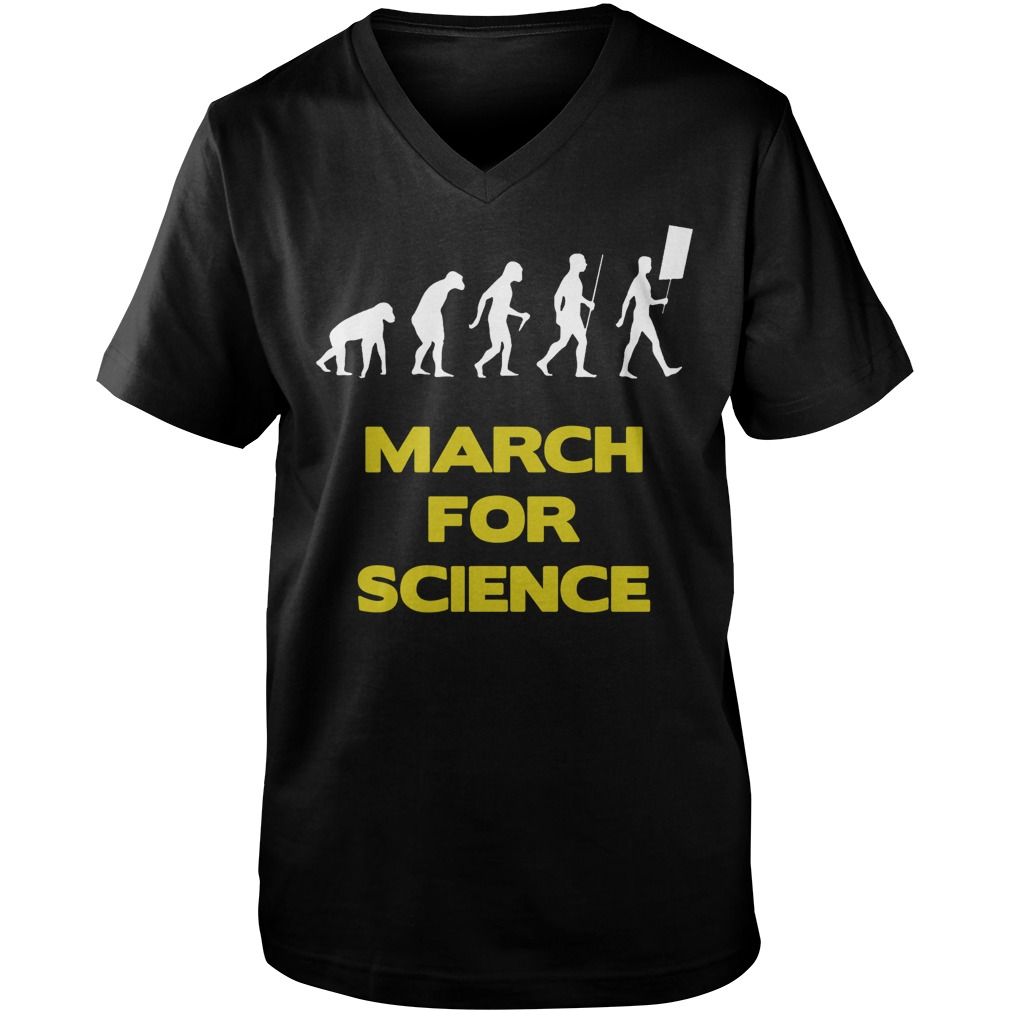 March For Science (Man) guys v-neck
