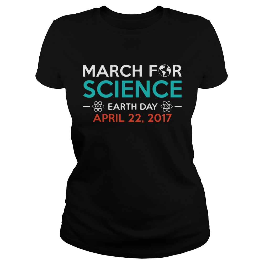 March For Science Washington DC 2017 Cool ladies tee