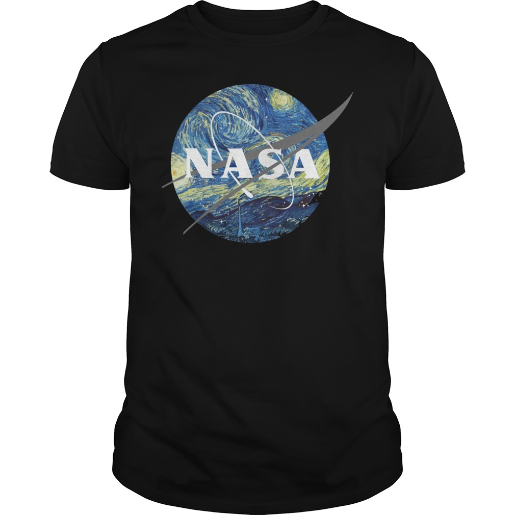 Nasa Earth Day guys tee
