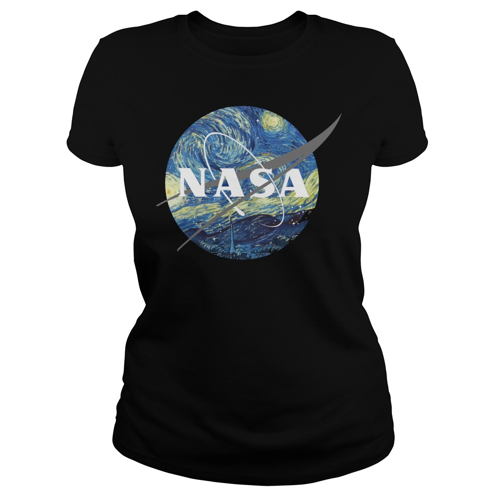 Nasa Earth Day ladies tee
