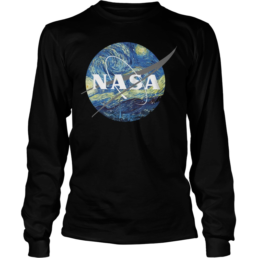 Nasa Earth Day unisex longsleeve tee