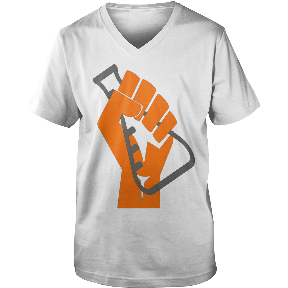 Stand with Science! Scientists March on Washington guys v-neck