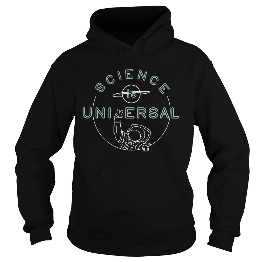 Bill Nye Science is universal Hoodie