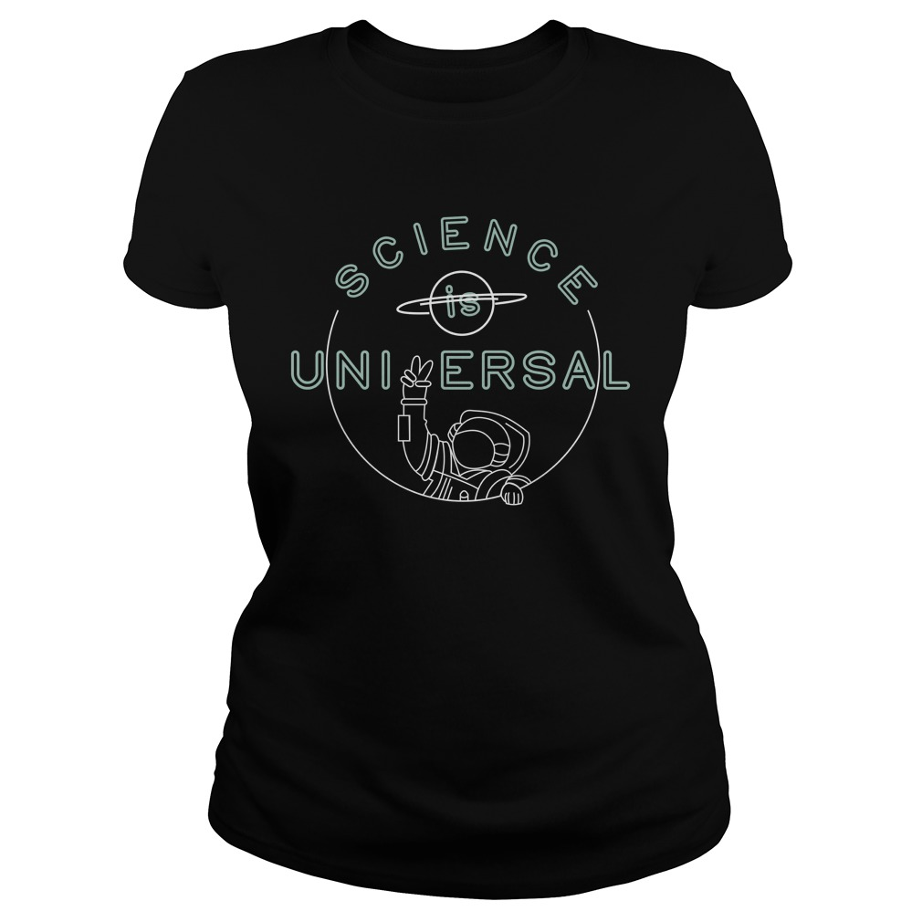 Bill Nye Science is universal ladies t-shirt