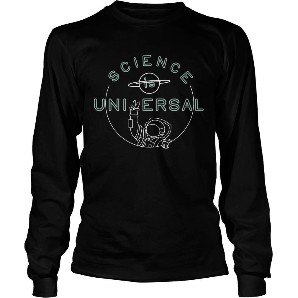 Bill Nye Science is universal longsleeve