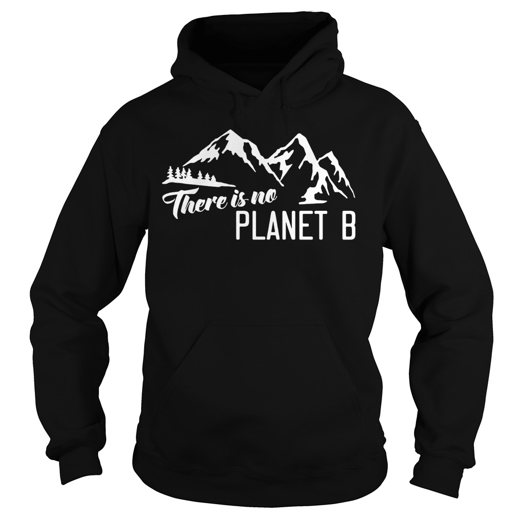 Official There is no Planet B hoodie