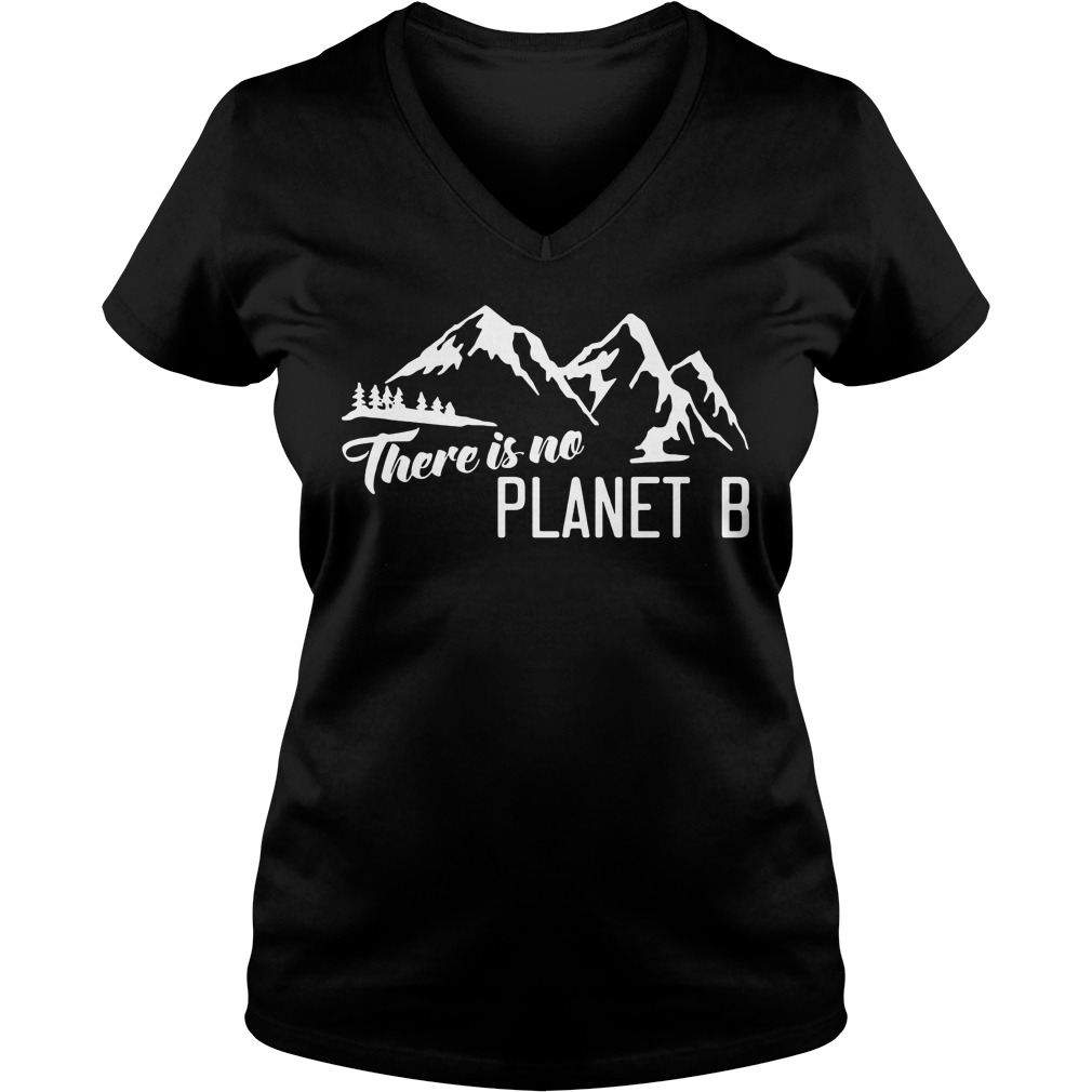 Official There is no Planet B ladies v-neck
