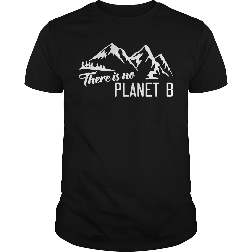 Official There is no Planet B t-shirt