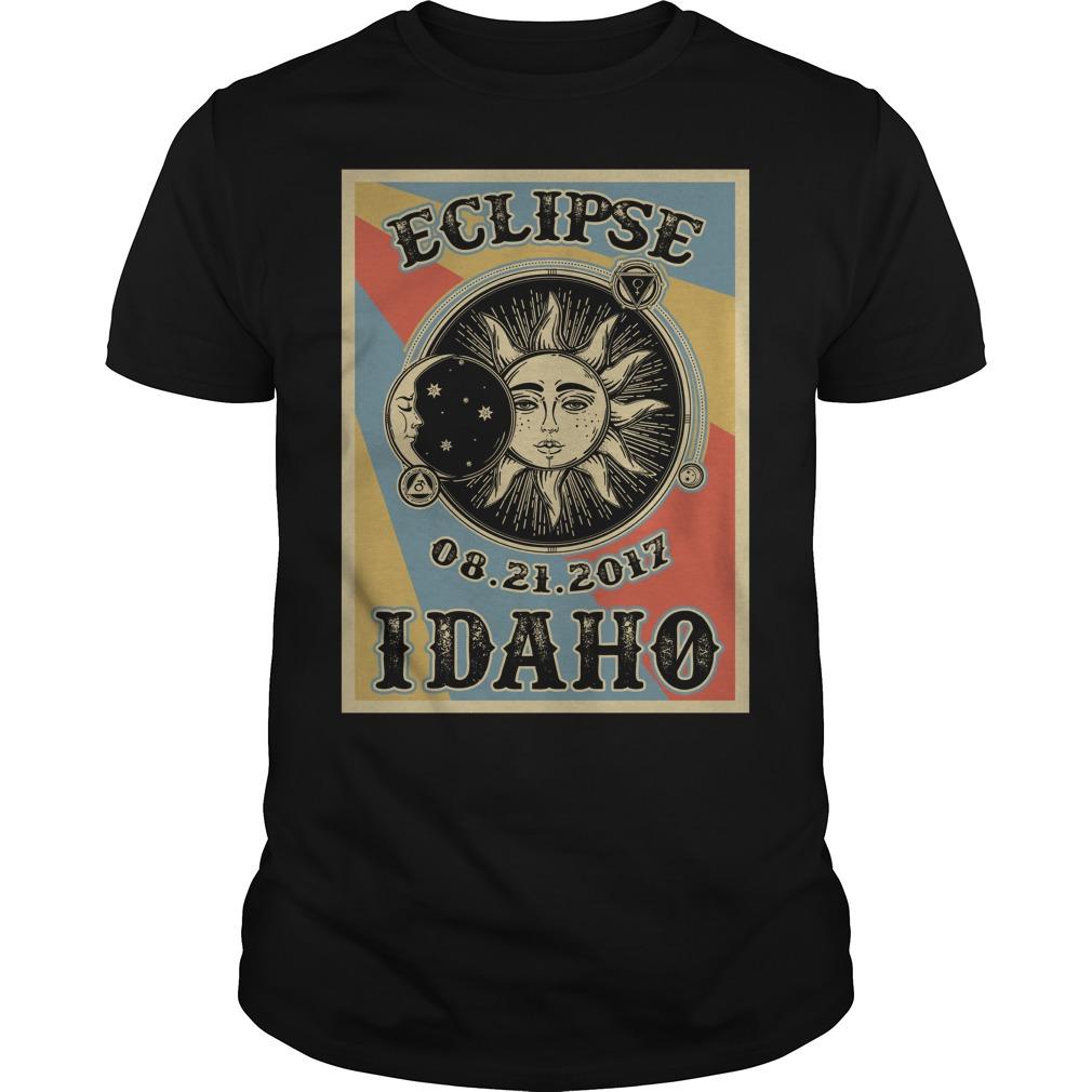 Vintage Idaho Solar Eclipse 2017 shirt
