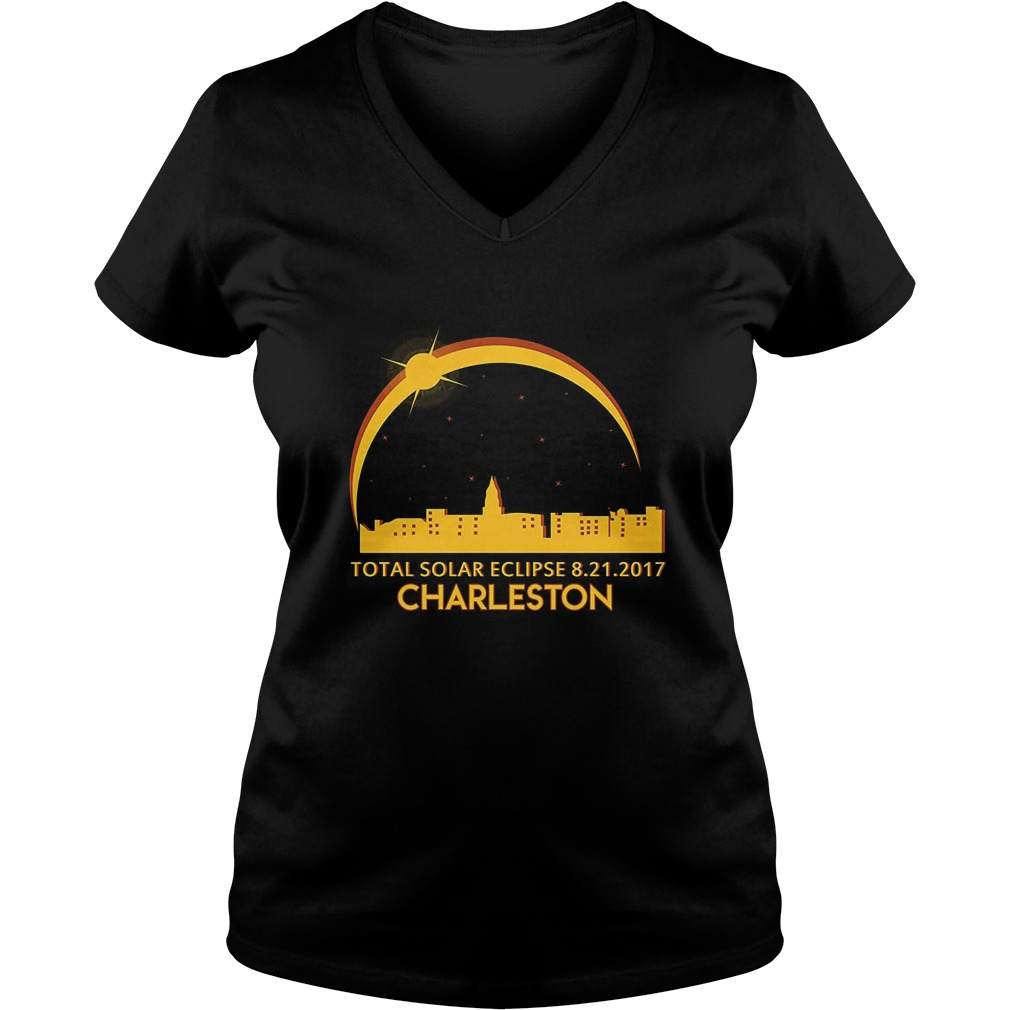 Charleston sc total solar eclipse shirt hoodie for T shirt printing charleston sc