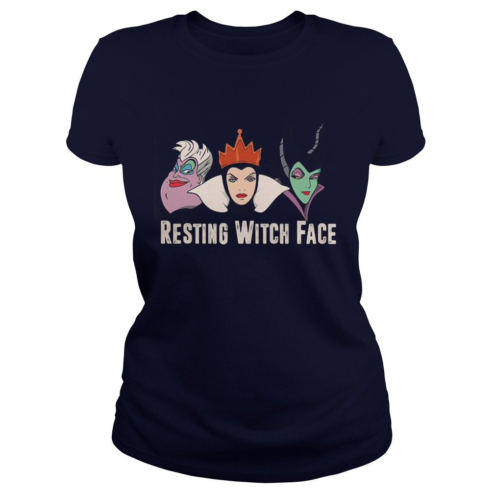 2017 Disney Resting witch face shirt