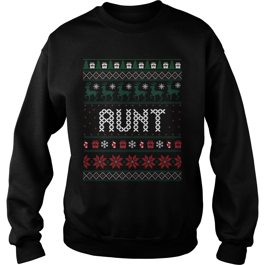 Aunt christmas ugly sweater