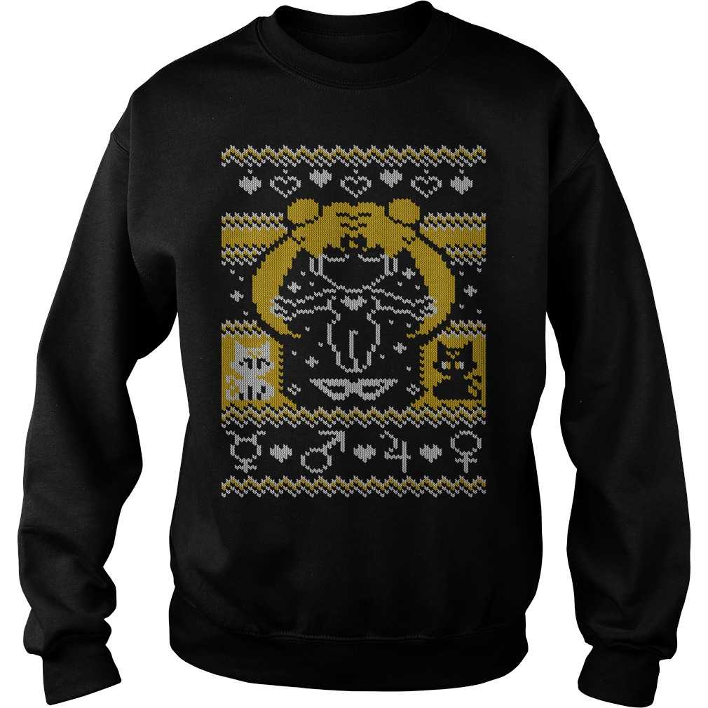 Blonde girl ugly christmas sweater
