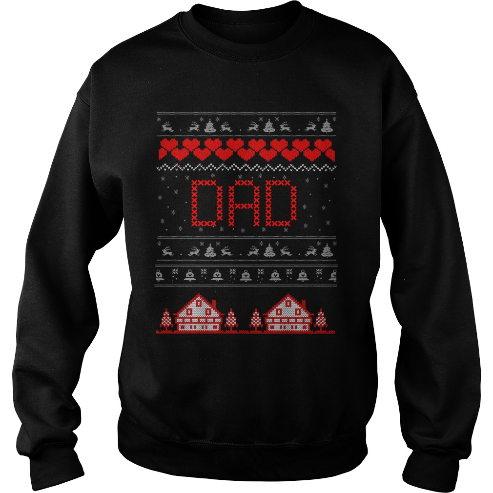 Dad christmas ugly sweater