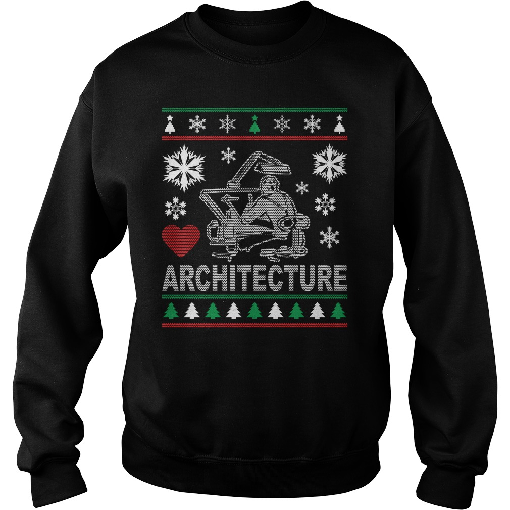 Ugly Architecture Christmas Design sweater
