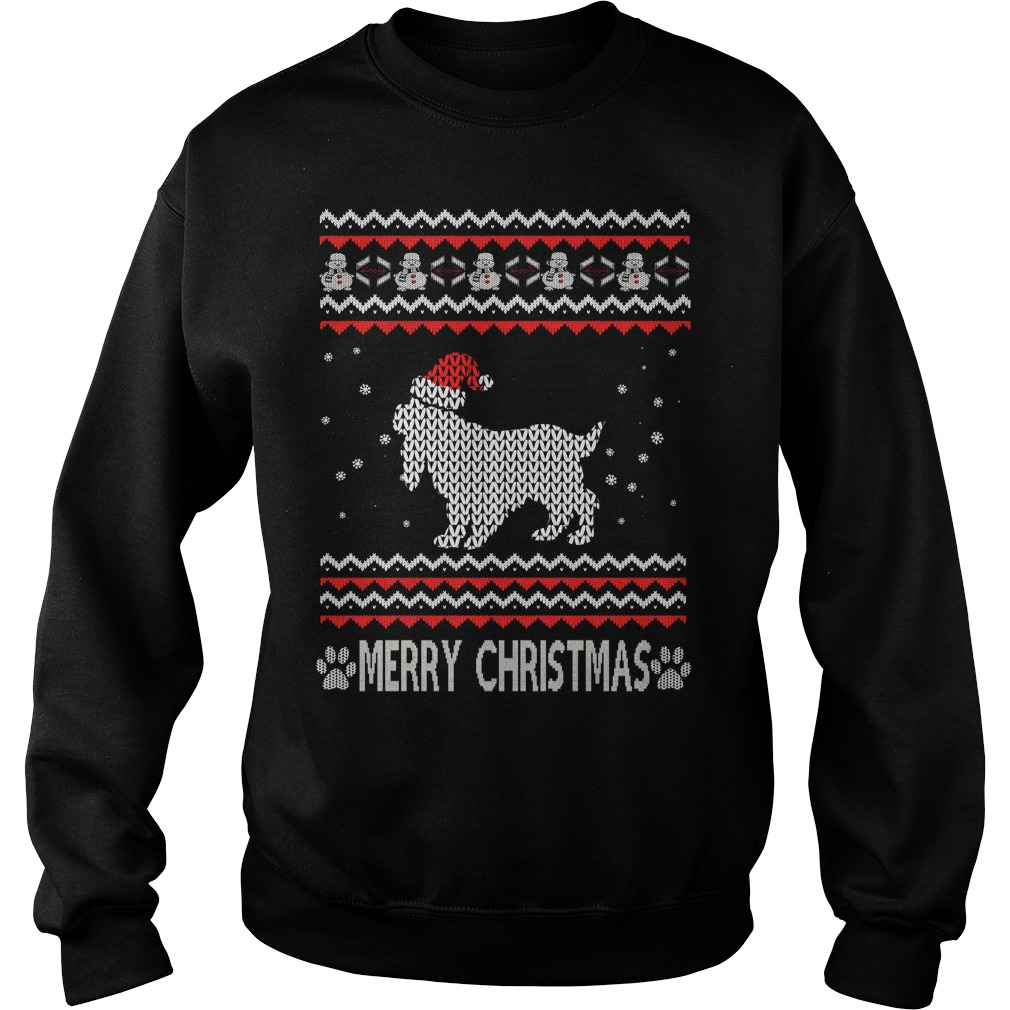 Ugly Christmas Cocker Spaniel sweater
