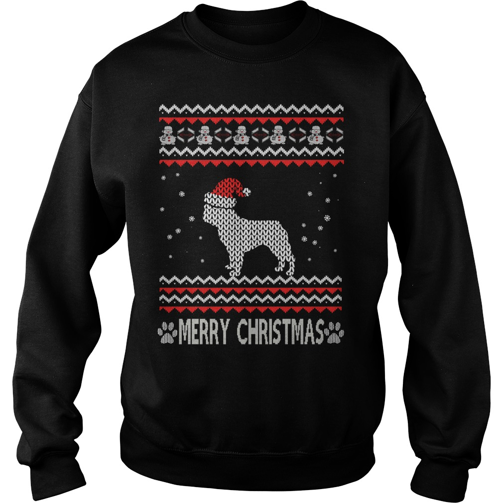 Ugly Christmas French bulldog sweater
