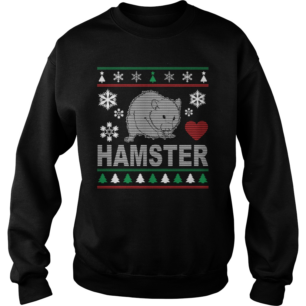 Ugly Hamster Christmas Design sweater