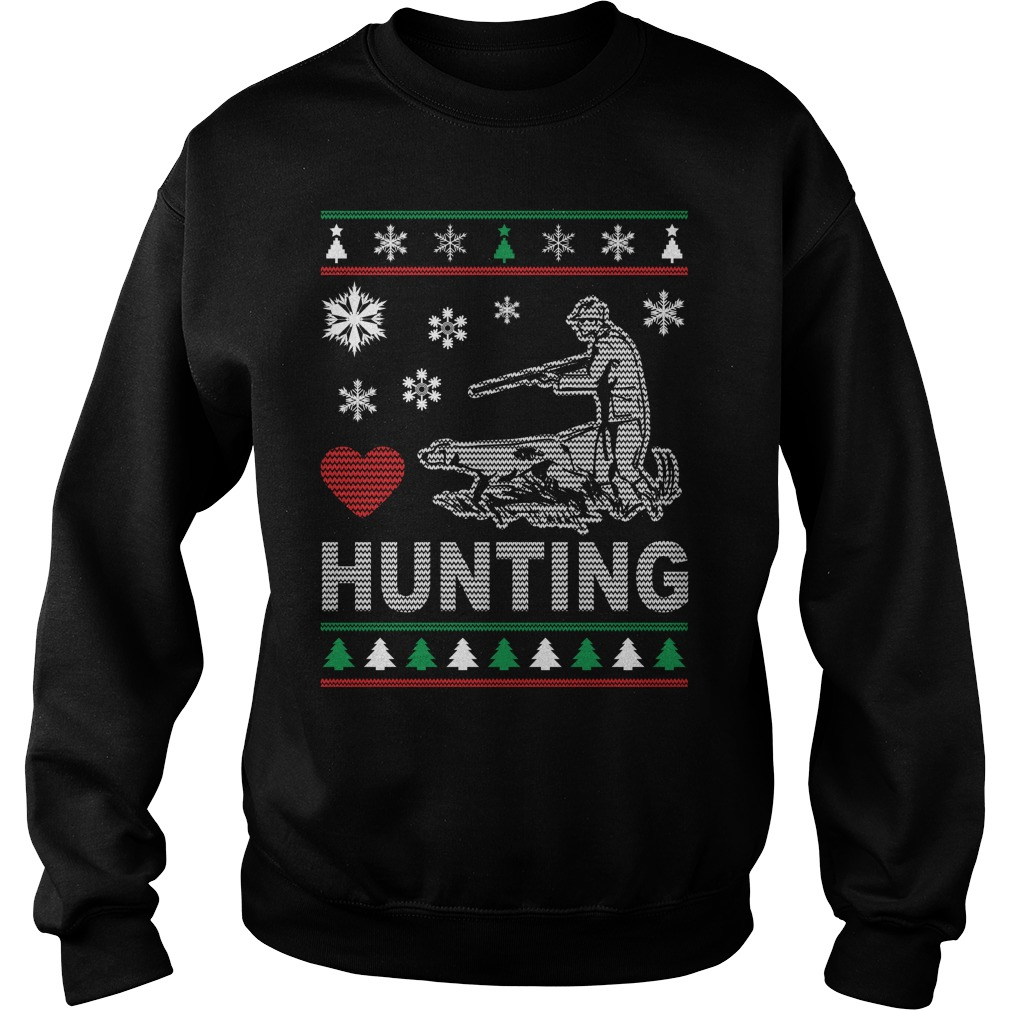 Ugly Hunting Christmas Design sweater