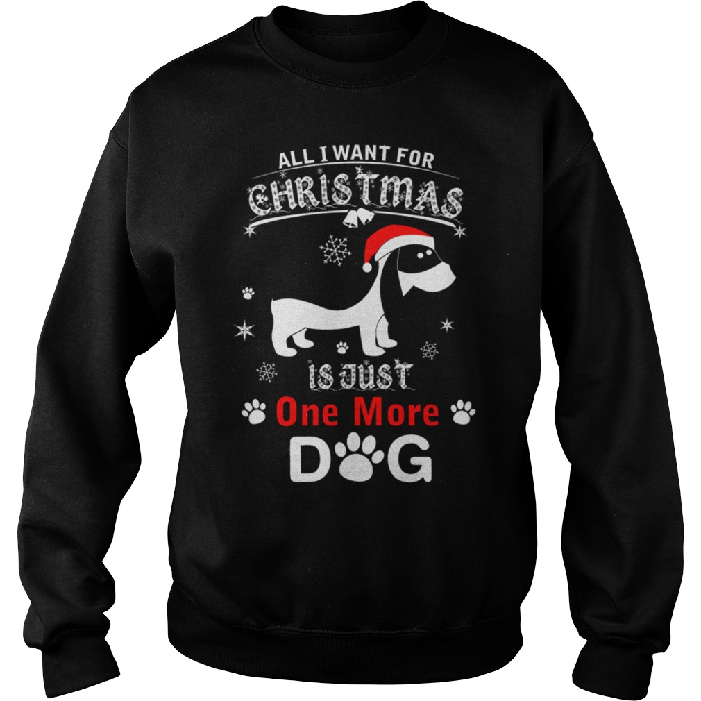 All I want for Christmas is just one more Dog sweater