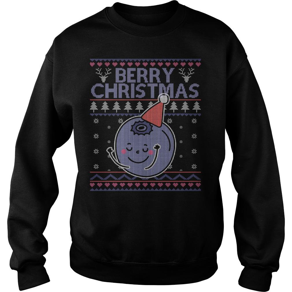 Berry Christmas sweater