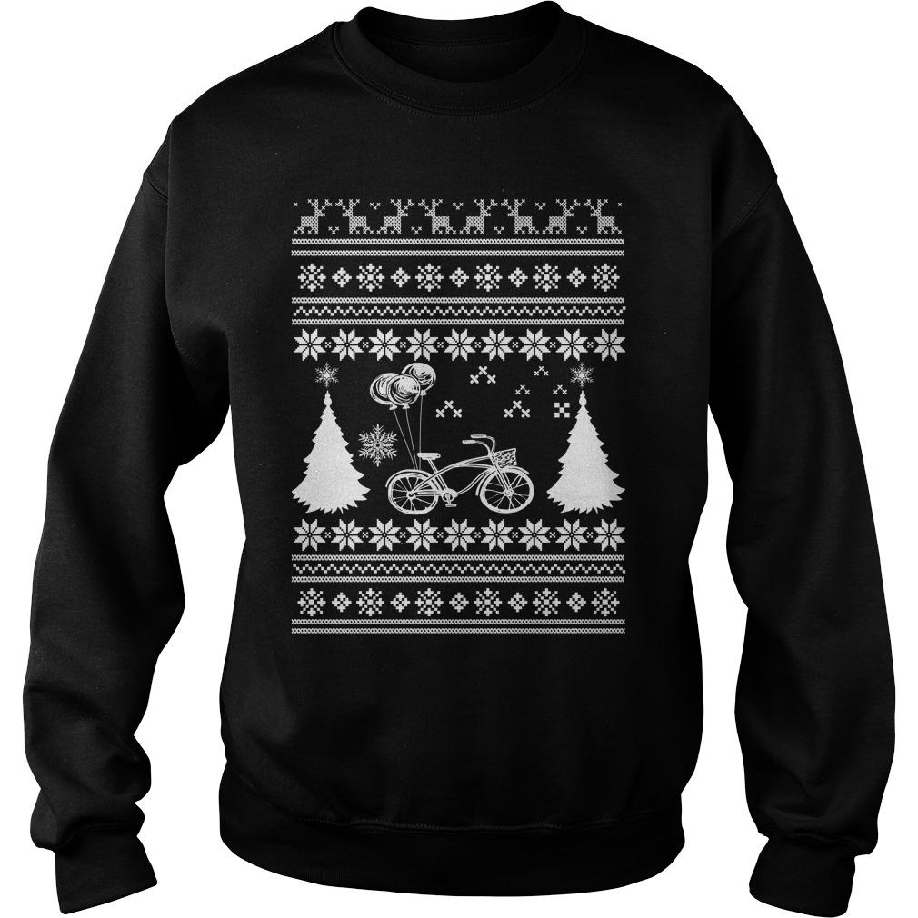 Bicycle Ugly Christmas sweater