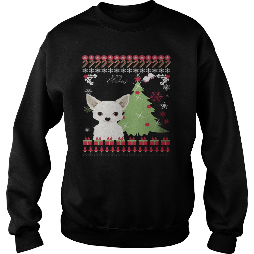 chihuahua ugly christmas sweater shirt and hoodie. Black Bedroom Furniture Sets. Home Design Ideas