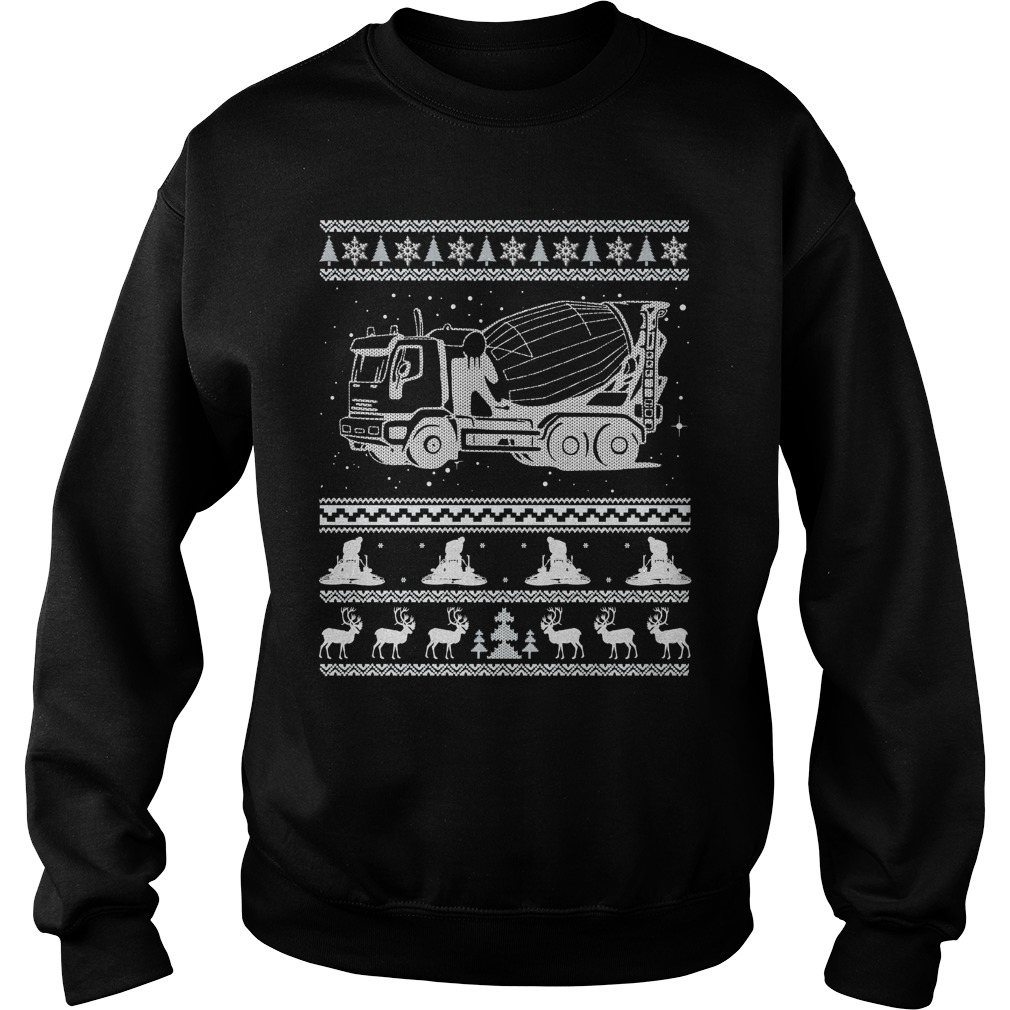 Concrete Ugly Christmas sweater