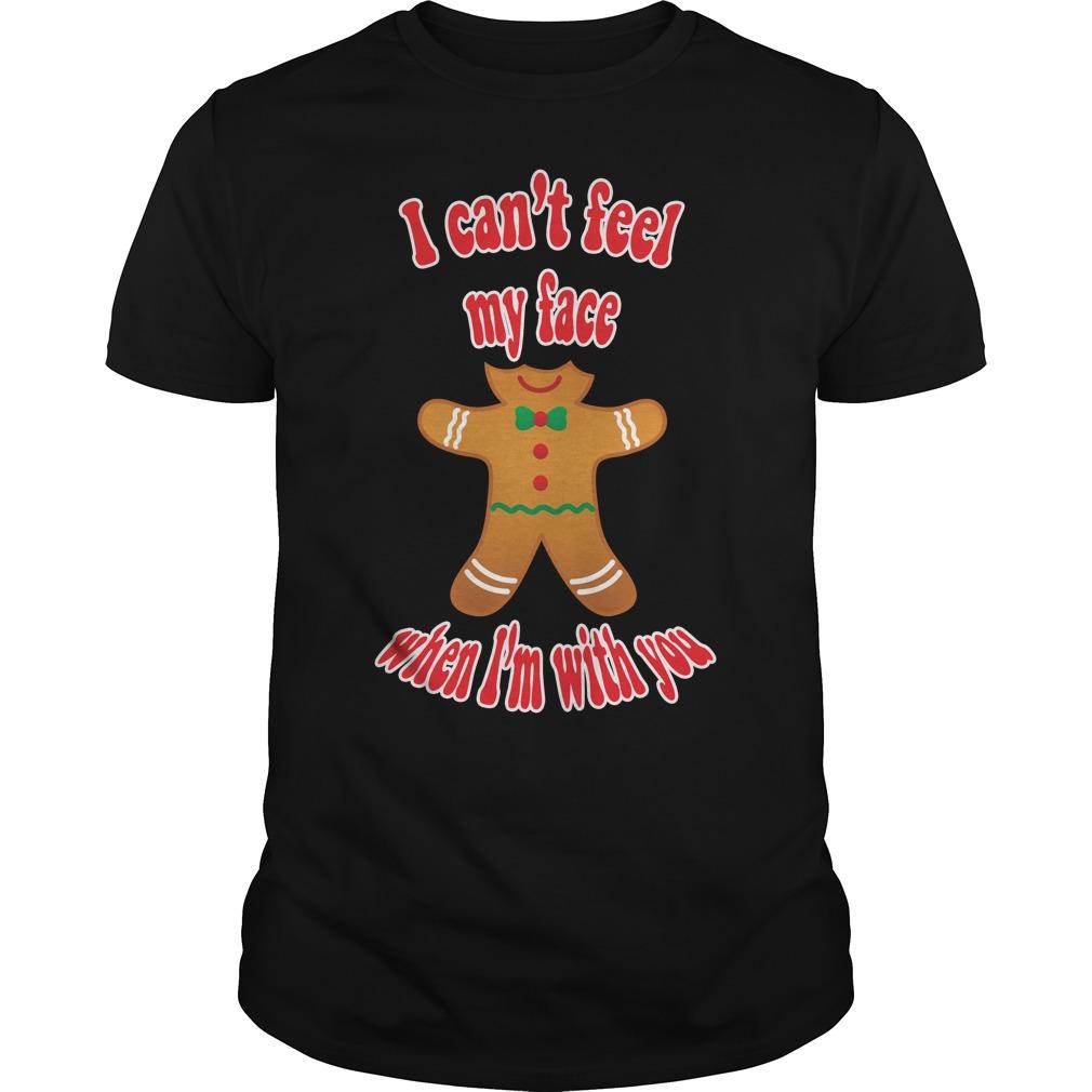 Funny Christmas gingerbread man T-shirt