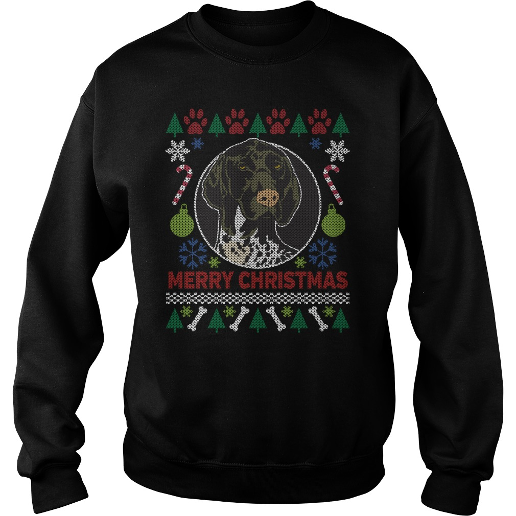 German Short Hair Pointer Ugly Christmas sweater