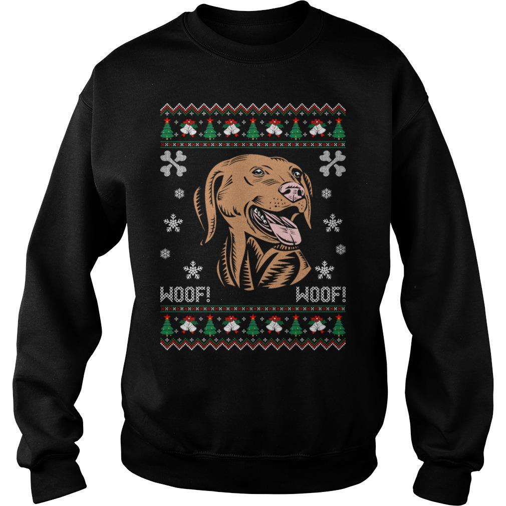Golden Retriever Ugly Christmas sweater