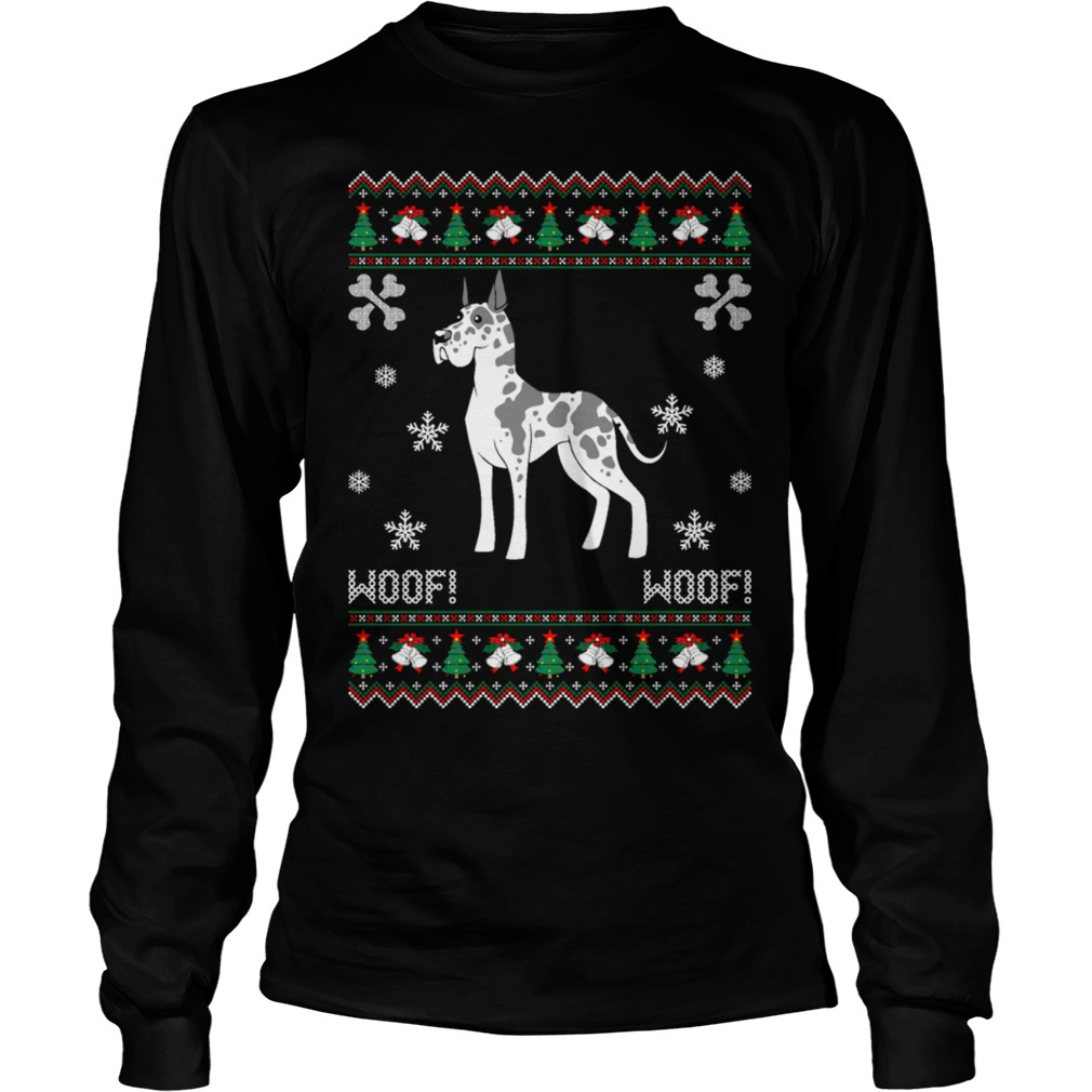 Great Dane Ugly Christmas sweater, shirt and hoodie