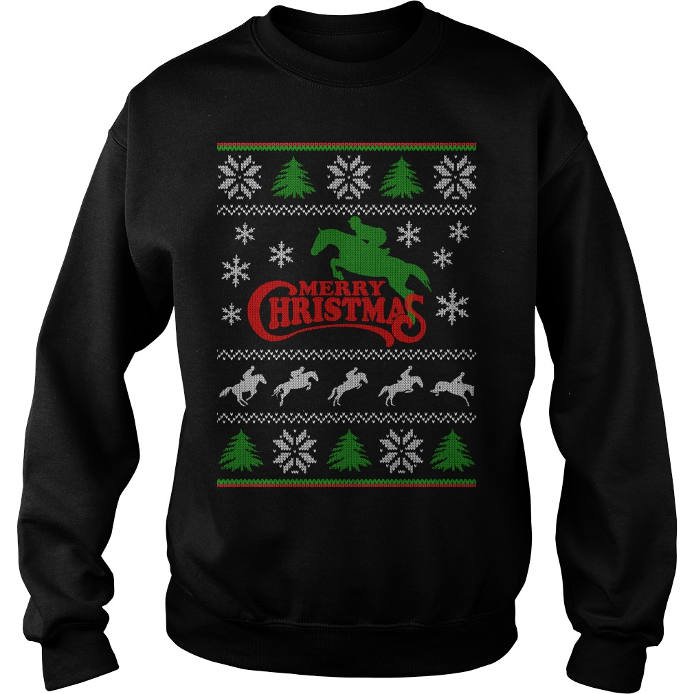 Horse 1 ugly christmas sweaters