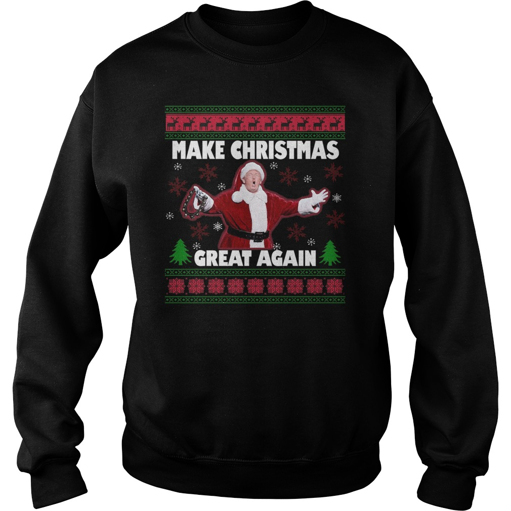 Make Christmas Great Again Ugly sweater