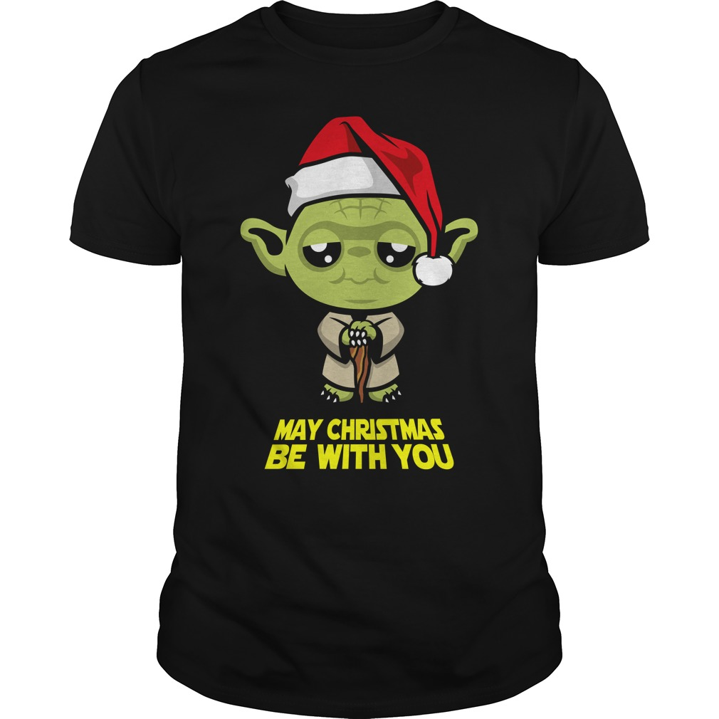 May Christmas be with you shirt