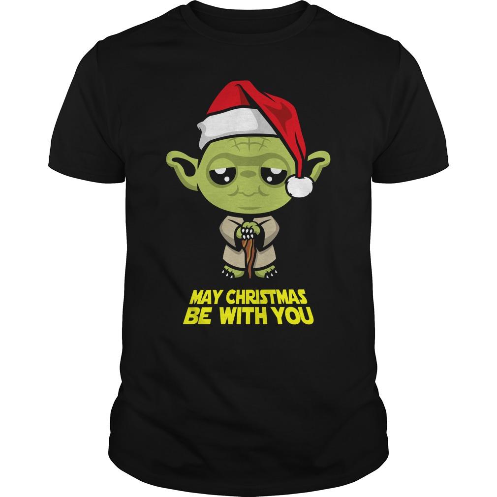 May Christmas be with you shirt