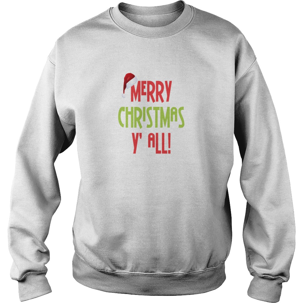 Merry Christmas Y' All sweater