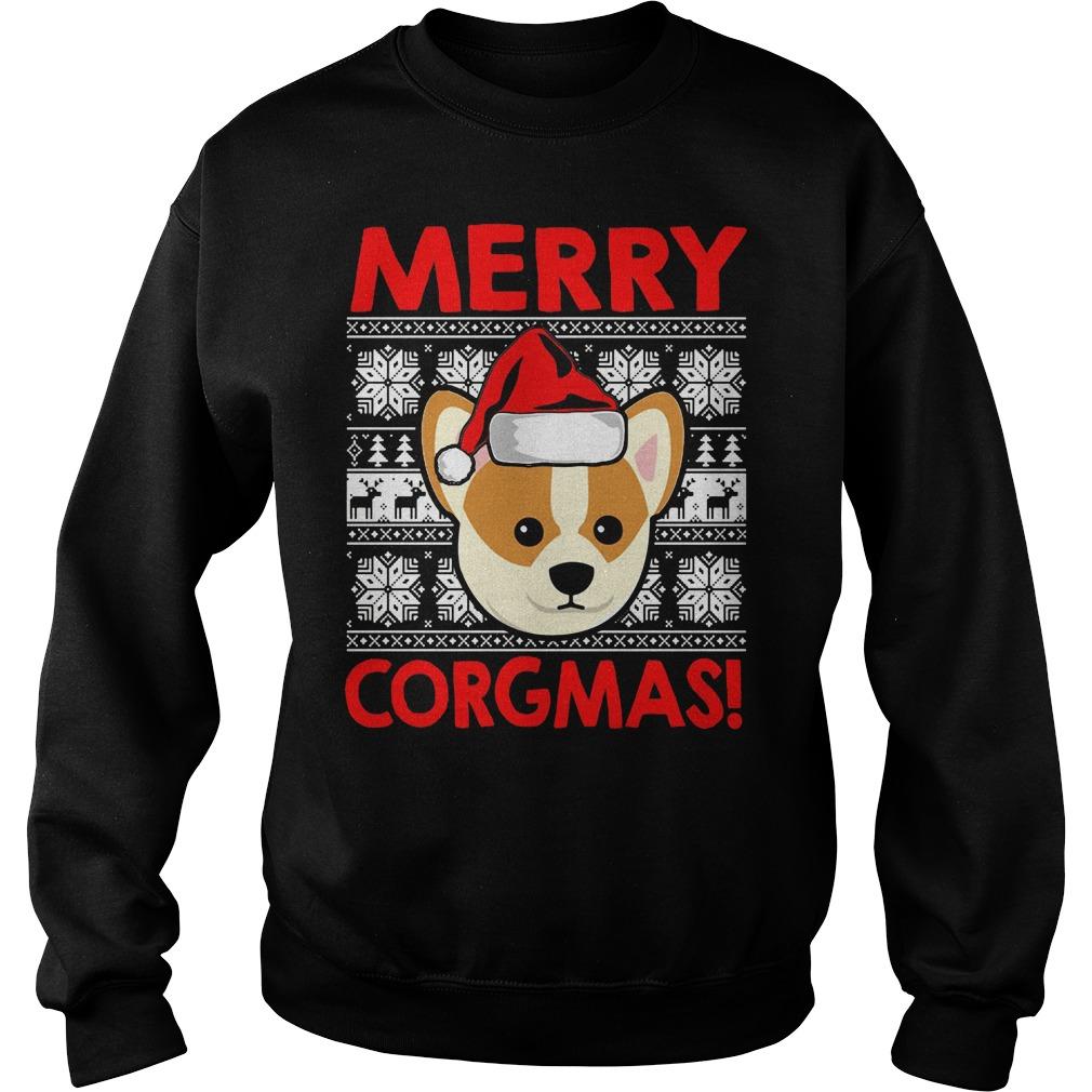 Merry Corgmas Christmas sweater