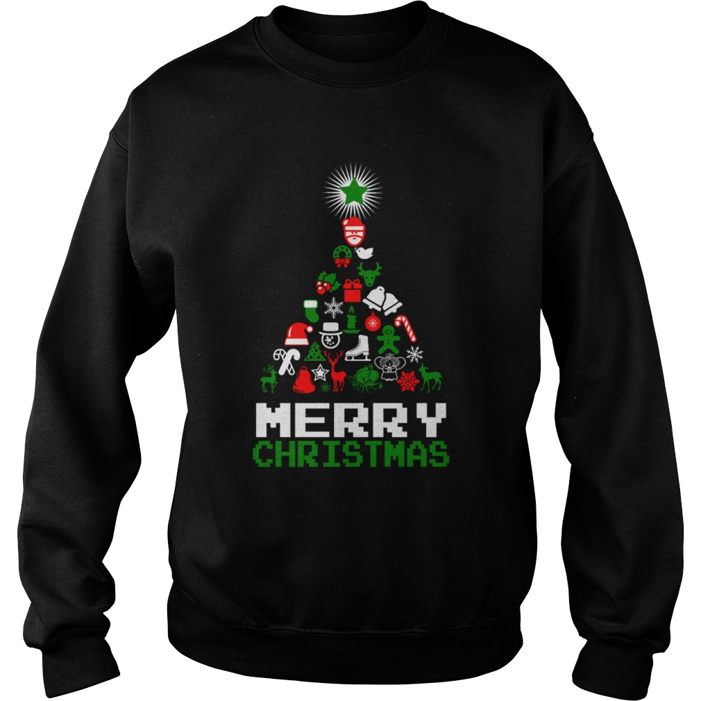 Ornament Merry Christmas Tree sweater