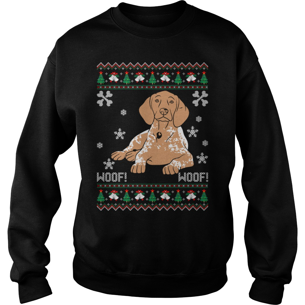 Pointer Ugly Christmas sweater