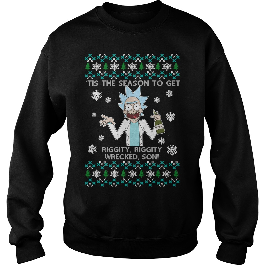 Rick and Morty Ugly Christmas sweater