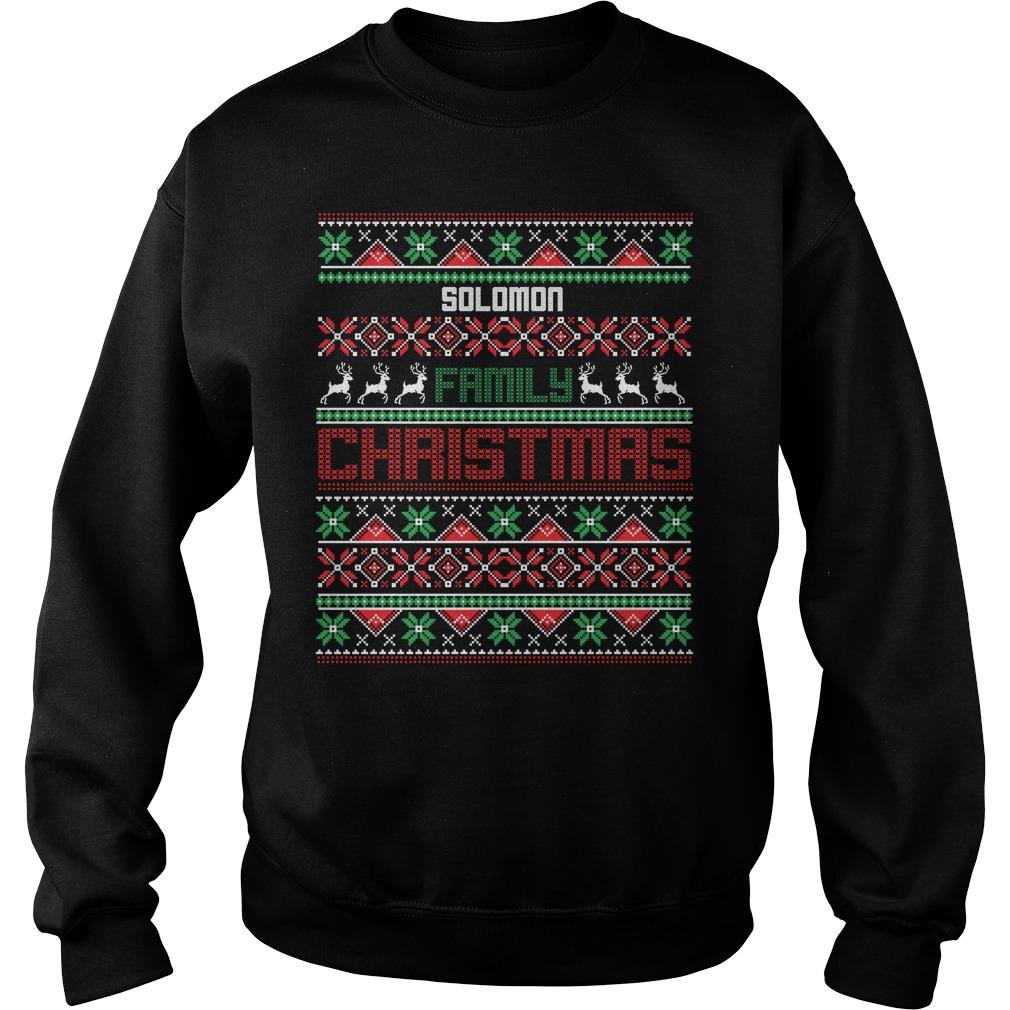 Solomom Family Christmas sweater