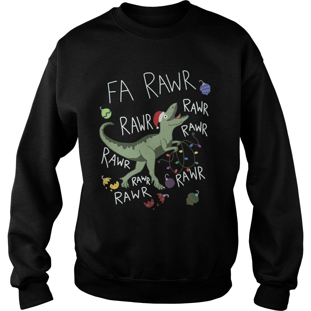 T-Rex Christmas Dinosaur - Dinosaur Christmas sweater